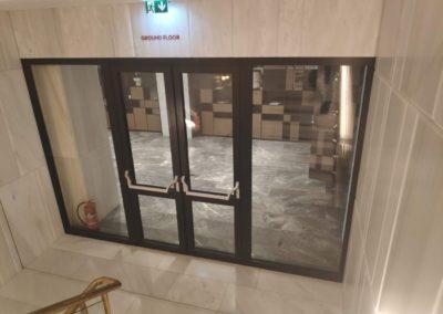 grand hyatt fire rated door result